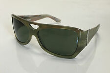 New Discontinued Initium Sticky Fingers Polarized Handmade Sunglasses-Green Horn