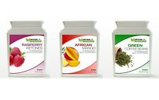 90 Raspberry Ketone & 90 Green Coffee Bean Extract & 90 African Mango Bottles