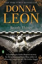 Beastly Things (Commissario Guido Brunetti) Leon, Donna