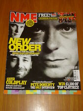 NME 2005 MAR 5 NEW ORDER COLD PLAY PETE DOHERTY REM