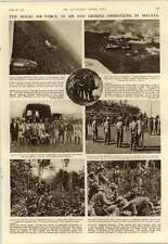 1952 Raf Operations In Malaya A N Ross J Hyslop Iban Trackers