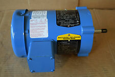 NEW Baldor Reliance Motor BM05876 3/4 .75 HP 3 Phase 2850 RPM 190 380-415 Volts