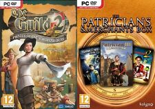 the guild 2 & Patrician III,Great Art Race,Dark star one  new&sealed