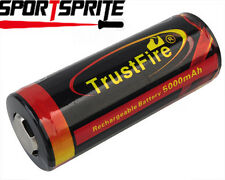 Trustfire TF26650 3.7V 5000mAh Rechargeable Battery PCB Protected High Quality