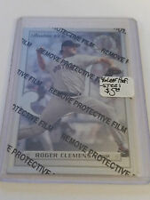 1996 Leaf Preferred Steel #63 Roger Clemens : Boston Red Sox