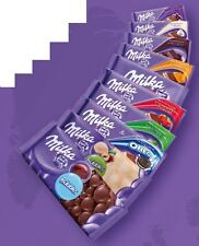 MINIMUM ORDER 4 Swiss Milka chocolate bar 100g MIX FLAVORS free shipping