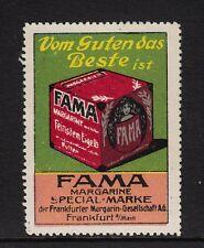 43748/ Reklamemarke - FAMA - Margarinewerke Frankfurt/M.