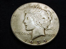 1934-S PEACE DOLLAR GREAT KEY DATE COIN!!  #70