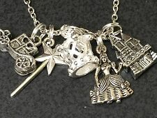 "Fairy Godmother Things Charm Tibetan Silver 18"" Necklace BIN"