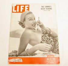Vintage LIFE Magazine MAY 21 1951 Cigarette Car Ad Willys Ford Studebaker Navy
