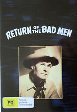 NEW! RETURN OF THE BAD MEN - CLASSIC RANDOLPH SCOTT WESTERN BADMEN
