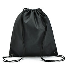 Girls Boys Drawstring Swim Sports Shoe Dance Bag Schoolbags Backpack PE Gym
