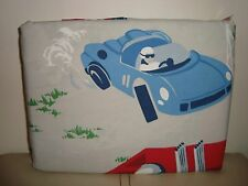 Pottery Barn Kids Vintage Cars Duvet  F/Q    NEW