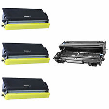 3PK TN460 Toner & DR400 Drum for Brother MFC 8300 8500 8600 8700 9650 9600 9660