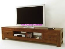 Comtempory T.V/LCD Stand of Shesham Wood Size 180 X 50 X 45 Cms in Brown Colour