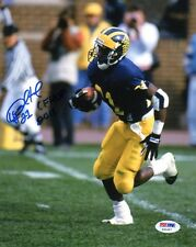 DESMOND HOWARD SIGNED AUTOGRAPHED 8x10 PHOTO + CFHOF 2011 MICHIGAN PSA/DNA