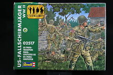XP020 REVELL 1/72 figurine 2517 Parachutistes US WWII Us Para troopers parachute