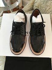 Givenchy Lace Up Rottweiler Derby Oxford In Black Size 7