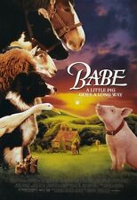 BABE THE GALLANT PIG movie poster print # 1  : 11 x 17 inches,  pig poster