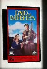 """BRAND NEW"" MOVIE ""DAVID AND BATHSHEBA"" PAL VHS VIDEO GREGORY PECK 1951 FILM"
