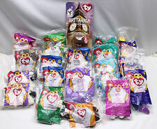 1996, 1998, 1999  McDonalds BEANIE BABIES Toys LOT OF 22 Happy Meal  BAGS