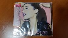 Ariana Grande Yours Truly Japan CD?DVD  UICU-9075 w/OBI Universal Deluxe Edition