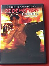 Redemption Kickboxer 5 DVD Payback Deadly Mark Dacascos Kickboxing Fight Action