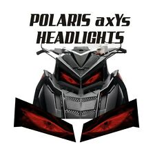 POLARIS HEADLIGHT decal GRAPHICS SWITCHBACK RUSH 800 600 PRO S X AXYS 120 137 2