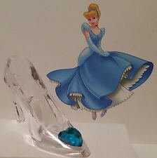 Cinderella's Glass Slipper, Birthday Party, Cake Topper, Wedding, Bride, Shower
