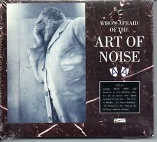 ART OF NOISE RARE DOUBLE CD WHO S AFRAID OF THE ART OF NOISE