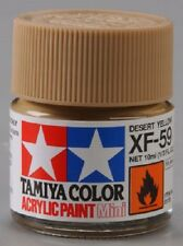 Tamiya XF59 Desert Yellow Acrylic Model Paint 81759 TAM81759