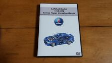 SAAB ALL MODELS Service Repair Workshop Manual OEM (software) DVD-ROM,