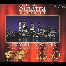 Various Artists, Frank Sinatra Gold: New York New York, Excellent Box set
