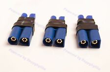 Lot (3) Male EC5 to Female EC3 Power Adapter RC Lipo Battery Adapter Connector
