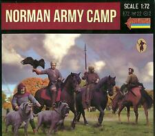Strelets Models 1/72 NORMAN ARMY CAMP Figure Set