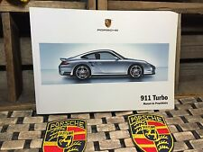 2008 2007 PORSCHE 911 TURBO OWNERS MANUAL PRIORITY SHIP (BUY OEM NEW (IN FRENCH)