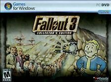 PC Fallout 3 Collector's Edition - RARE HTF - NEW SEALED