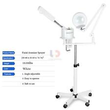 Pro 2 In 1 Facial Steamer Spa Salon 5x Magnifying Lamp Hot Ozone Beauty Machine