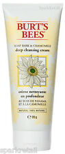 Burt's Bees Organic Soap Bark & Chamomile Deep CLEANSING CREAM 170g Face Wash
