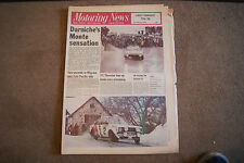 Motoring News 1 February 1979 Monte Carlo Rally Snowman Touring Car Review BTCC