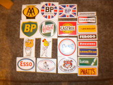 CHOOSE 6 ASSORTED MOTORING DECALS, IDEAL FOR GOODWOOD REVIVAL
