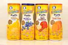 Gerber Graduates Puffs Cereal Snack 4 Count 1.48 Oz Each Multi-Flavor Baby Food