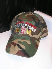 Brand new 2013 RETRO World series Boston Red Sox camo baseball hat cap OSFA