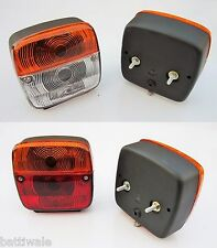 Front Indicator + Rear Tail Flasher Light Lamp Mini Truck Lorry Trailer Bus