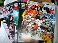2000AD BACK PROGS 1700-1799 ANY 2 FOR £1.50  - ALL EX CONDITION JUDGE DREDD