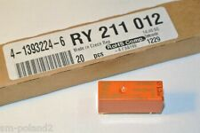 RY211012 Electromechanical Relay 12VDC SCHRACK 4-1393224-6  [QTY=1pcs]