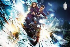DOCTOR WHO MOTORCYCLE DESIGN 91.5 X 61CM POSTER NEW OFFICIAL MERCHANDISE
