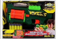 Buzz Bee Air Warriors Tek 5 Rotating Foam Dart Gun -Blasts Up To 30 Feet- NEW (3
