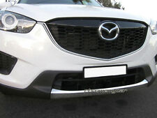 Chrome Front Lower Bumper Grille Molding Garnish Protector for Mazda CX-5 12-16