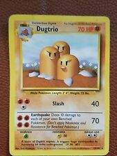 Pokemon Card Base #19/102 Dugtrio..lp
